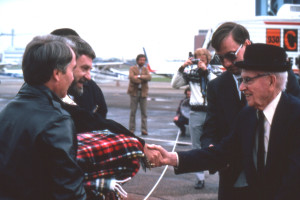 1979.07 - Bob & Denny receive Serum from Dr. Bow at Edmonton