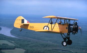 1979.12 - Fleet Finch flying - June 21 1979