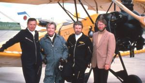Russ janzen, Bob Horner, Denny May & Les Stahlke at Peace River