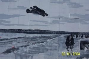 Mural at McLennan