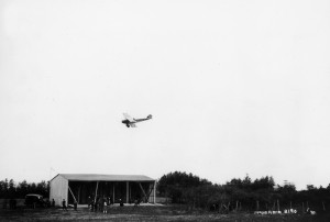 Flying over May Field - 1921