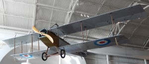 "Wop's Curtiss ""Canuck""  on display at the Reynolds Alberta Museum,. Wetaskiwin, Alberta"