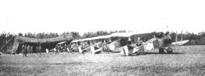 209 Squadron at Bertangles
