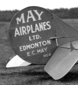 May Airplanes Ltd Canuck with Blue Tail